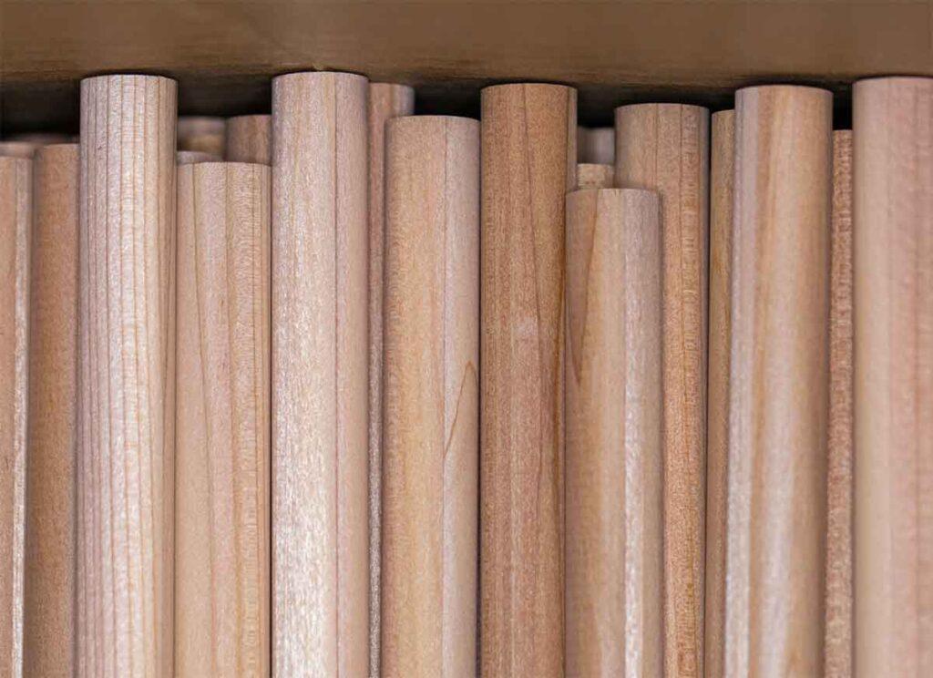 Matite in legno cosmetiche